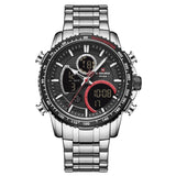 NAVIFORCE Men's Watch Top Luxury Brand Big Dial Sport Watch