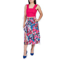 Falda Casual Dama Estampado Floreado Multicolor