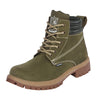 563-04 Bota Hunter Caballero Piel Natural Color Verde
