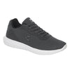 Tenis Charly Hombre Caballero, Gris Oxford, Textil.