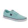 861-93 Tenis Casual Urbano Mujer DC Shoes Color Menta en Tela