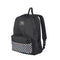 Mochila Back Pack Vans Casual Color Negro Flores Resistente