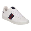 628-08 Tenis Polo Sneakers Casual Hombre Caballero Color Blanco