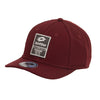 635-64 Gorra Lotto Hombre Caballero Color Vino Textil Ajustable