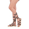 DUO PACK 627 Huaraches Alpargatas Dama Mujer Animal Print y Tribal