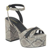 Zapatos Sandalia Plataforma Casual Animal print