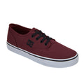 861-80 Tenis Casual Urbano Hombre DC Shoes Choclo Color Vino Comodo
