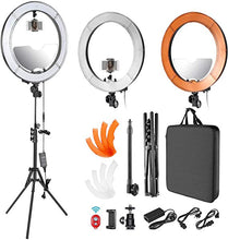 "Load image into Gallery viewer, 18"" Power Ring Light Package (Remote NOT included)"