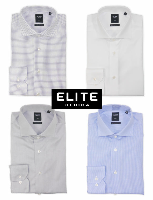 Serica Elite Dress Shirts at Jeff's Guyshop