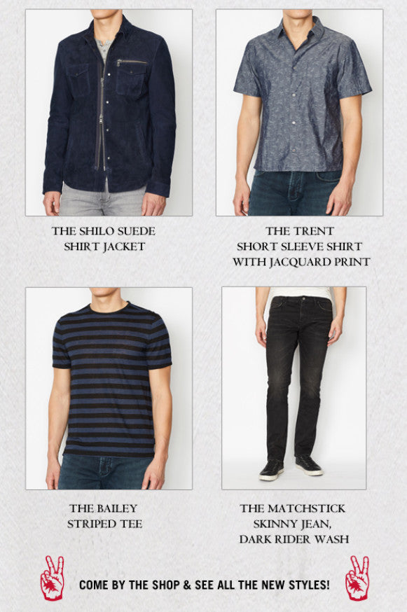 New featured items for Spring 2019 from John Varvatos Star USA