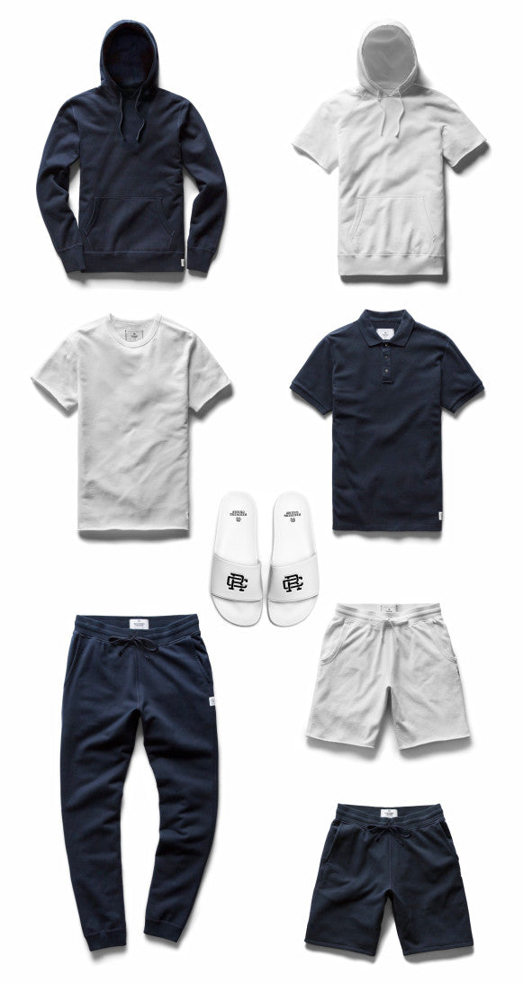 Reigning Champ athletic wear items