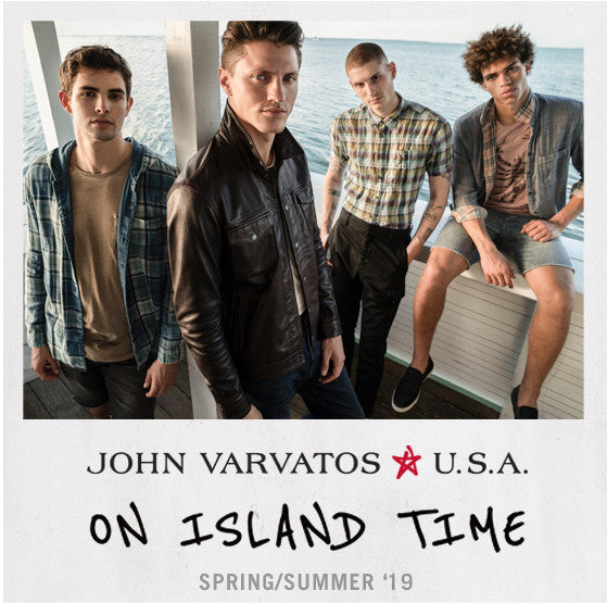 John Varvatos Star USA On Island Time