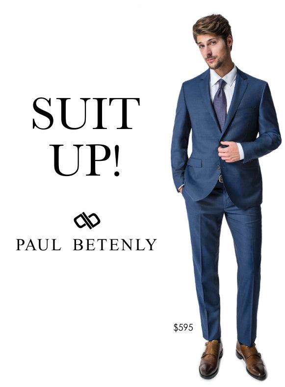 Suit up with an awesome suit from Paul Betenly