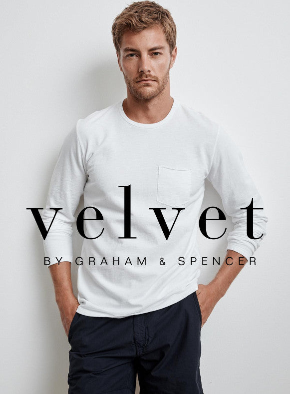 Velvet header - long sleeve tee