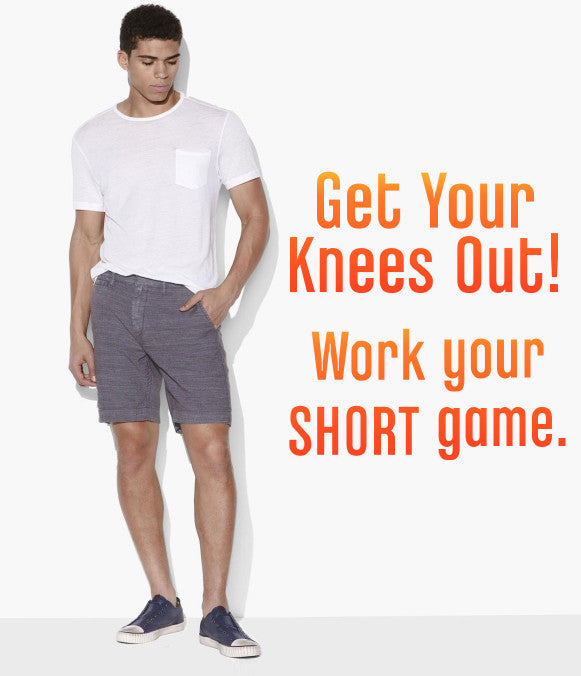 Get Your Knees Out! Work Your SHORT Game