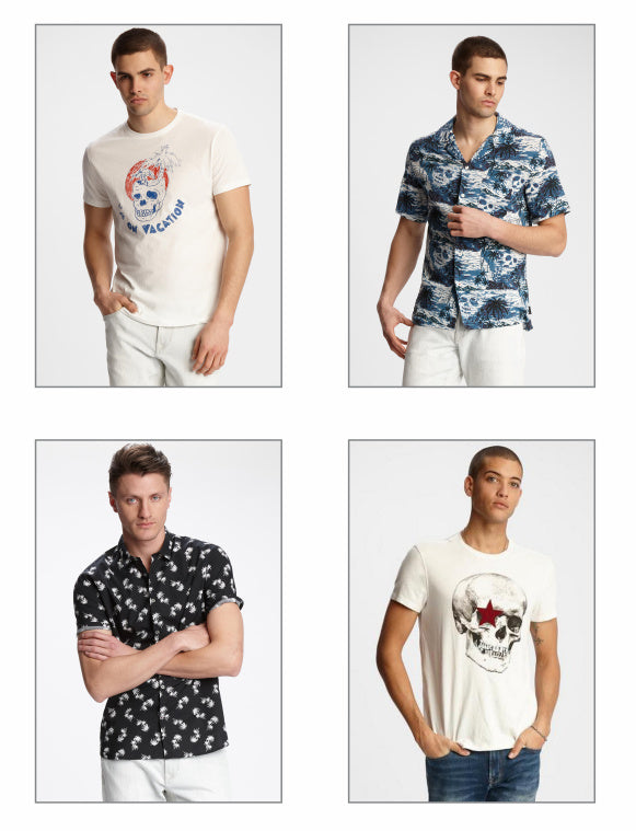 John Varvatos Star USA tees and shirts for Spring and Summer 2019