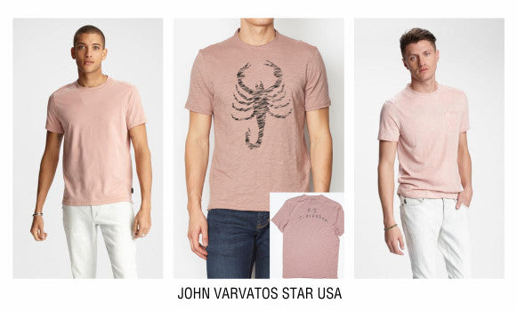 John Varvatos Star USA rose tees