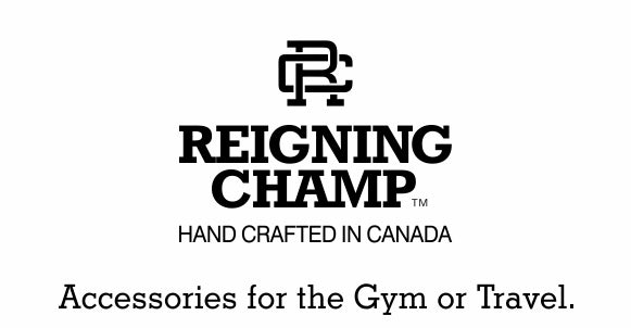 Reigning Champ. Accessories for the Gym or Travel