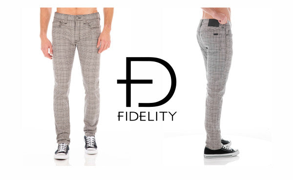 Fidelity Torino Killmeister Plaid pants - two images