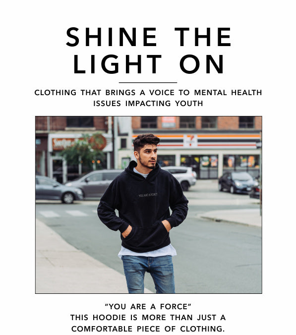 Shine The Light On - You Are A Force - Hoodie