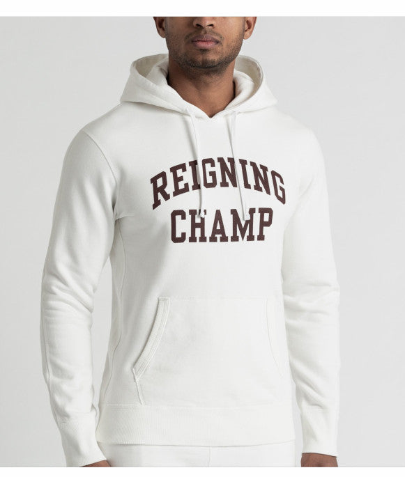 Reigning Champ branded hoodie