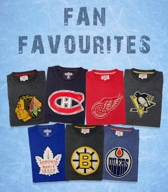 Vintage NHL Tees from Red Jacket