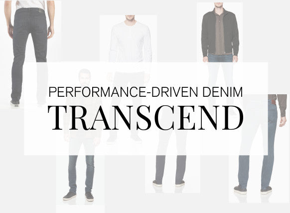 Performance-Driven Denim, Transcend by Paige