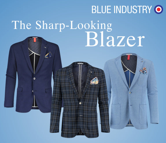 Blue Industry Jackets
