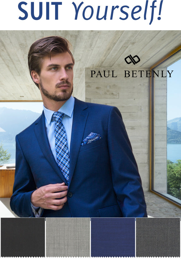Suit Yourself with Paul Betenly