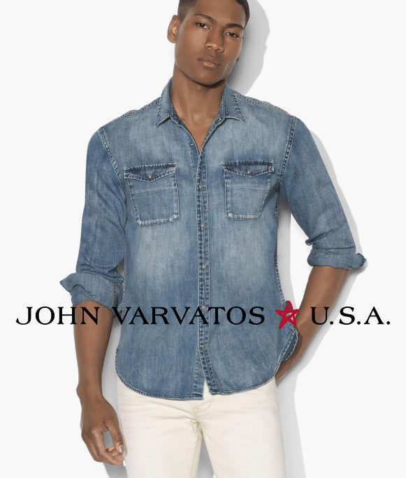 John Varvatos Star USA - Denim Shirt