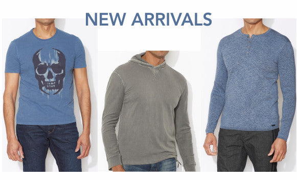 John Varvatos Star USA new arrivals: Skull Tee, Hoodie and Henley