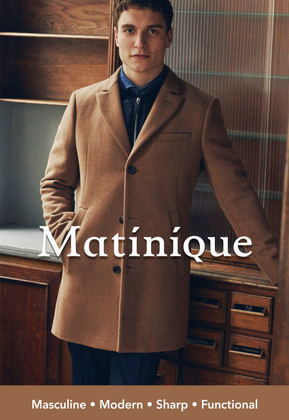 Matinique tan wool coat Fall 2018