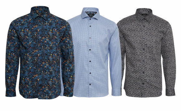 Matinique three more great print shirts for Fall 2018