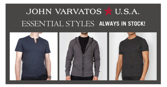 Three essentials from John Varvatos Star USA