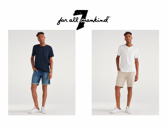 Seven for All Mankind shorts for Spring 2019