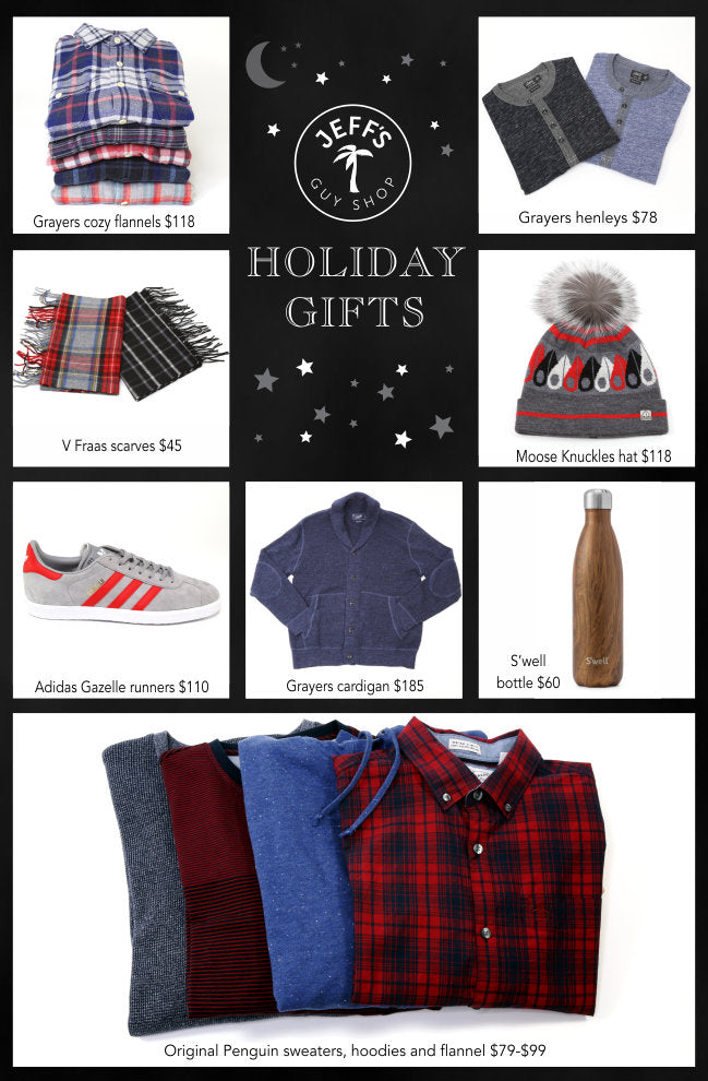 Jeff's Guyshop Gift Guide One