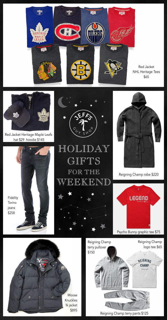 Holiday Gifts for the Weekend