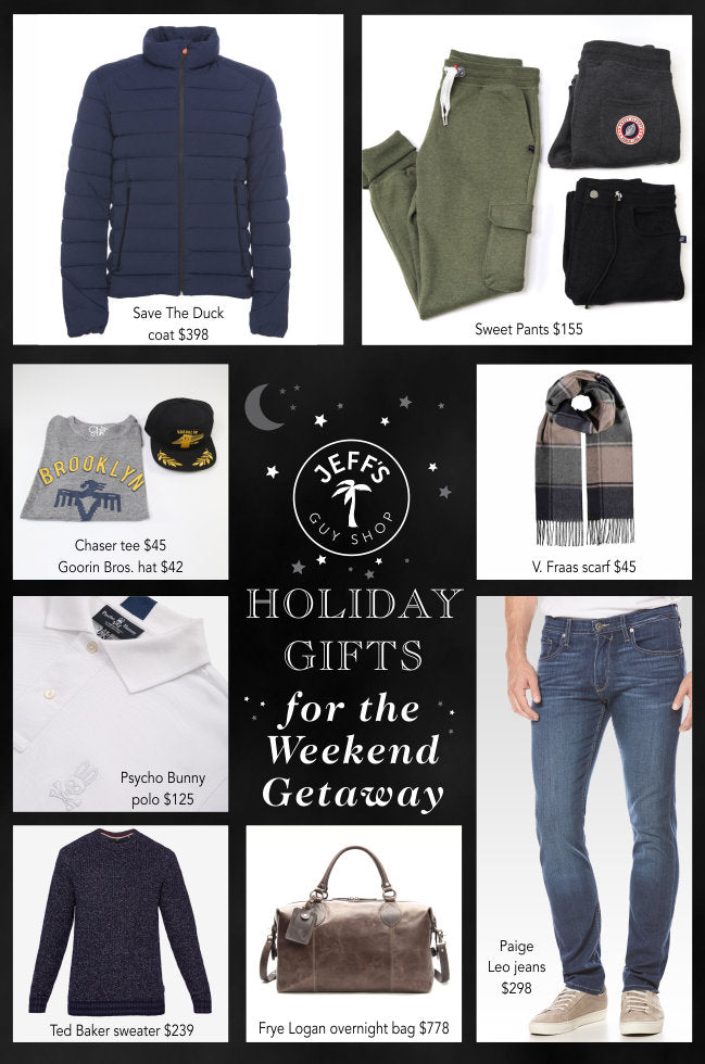 Holiday Gifts for the Weekend Getaway