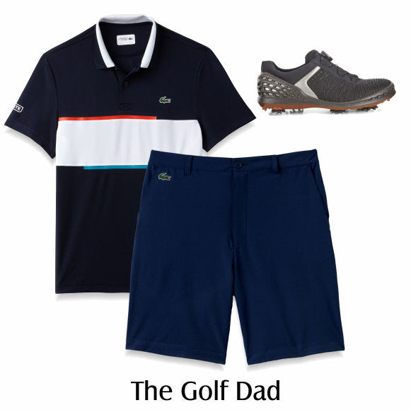 Golf Dad - Lacoste and Ecco