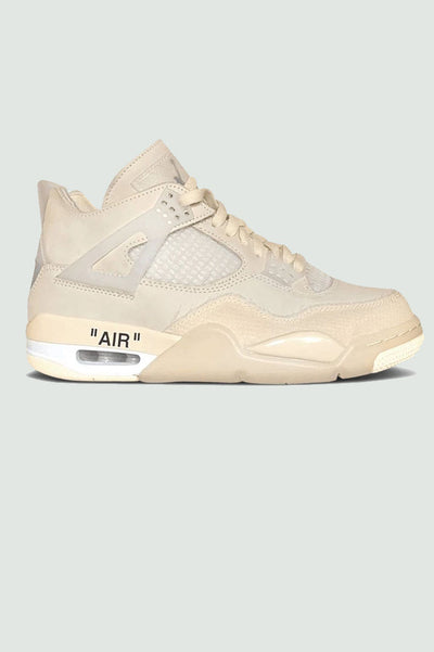 "Off-White X Air Jordan 4 Retro ""Sail"""