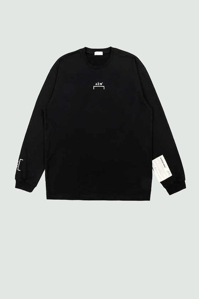 A-cold-wall Logo Embroidery Long Sleeve T-Shirt