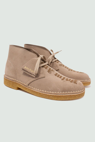 Palm Angels Clarks Sand Suede Desert Boots