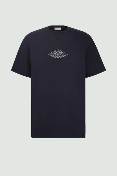 "DIOR X JORDAN ""AIR DIOR"" WINGS T-SHIRT NAVY"