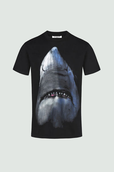 GIVENCHY SHARK PRINTED T-SHIRT