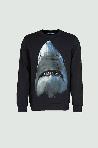 GIVENCHY  Shark-print cotton-jersey sweatshirt