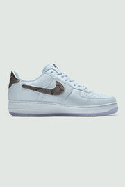 Nike CSTMS Air Force 1 Grey Snake  AF1