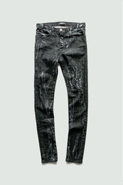 KEISER CLARK - Black Acid Wash Denim Jeans