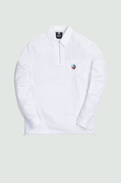 KITH x BMW Quarter Zip Collared Shirt