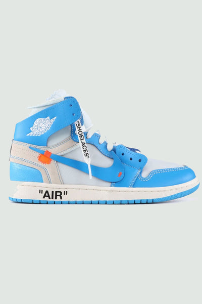 "Off-White X Air Jordan 1 ""UNC"""
