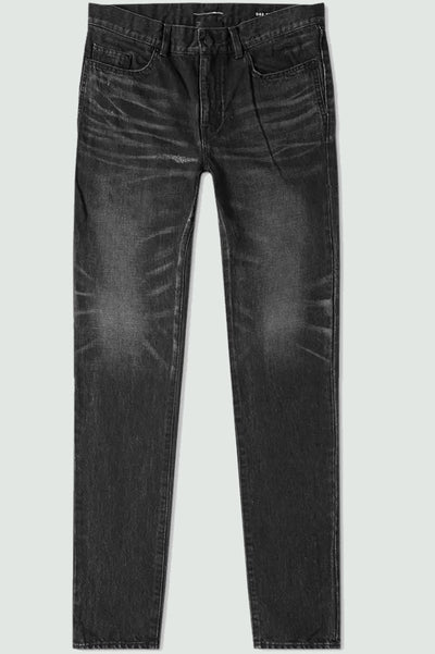 Saint Laurent Skinny 5 pockets Low Dark